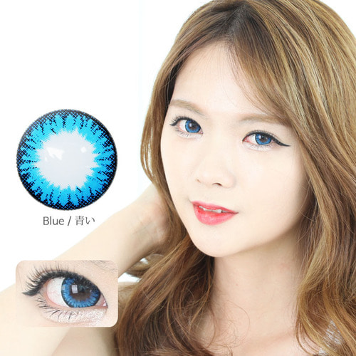 K14 Blue colored contacts