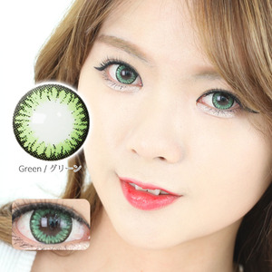 K14 GREEN colored contacts
