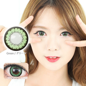K12 GREEN colored contacts
