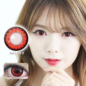 K12 RED colored contacts