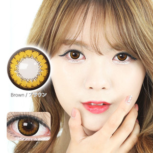 K12 BROWN colored contacts