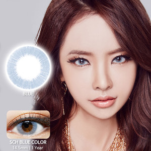 SCH Blue colored contacts