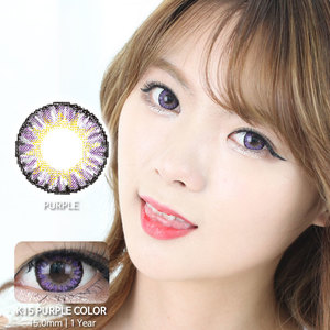K15 PURPLE colored contacts