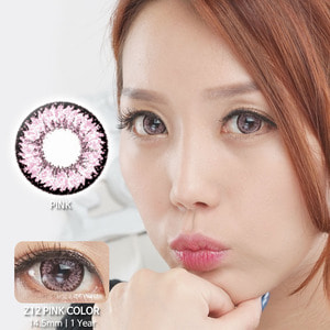 Z12 PINK colored contacts